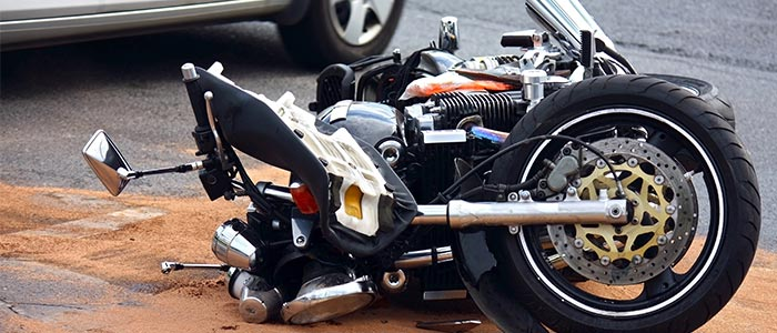 4 lesiones comunes por accidentes de motos