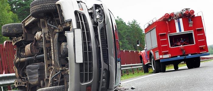 Tipos de colisiones entre vehículos