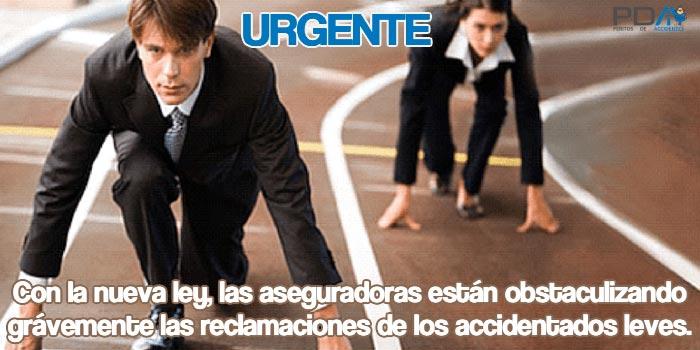 URGENTE: Las aseguradoras se están aprovechando de la nueva ley para no indemnizar cuando hay pocos daños materiales