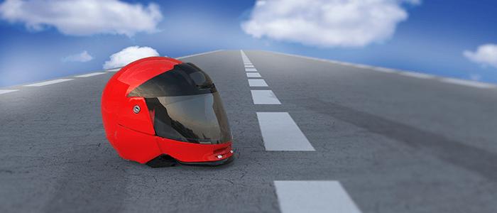 La importancia de uso del casco para los motoristas