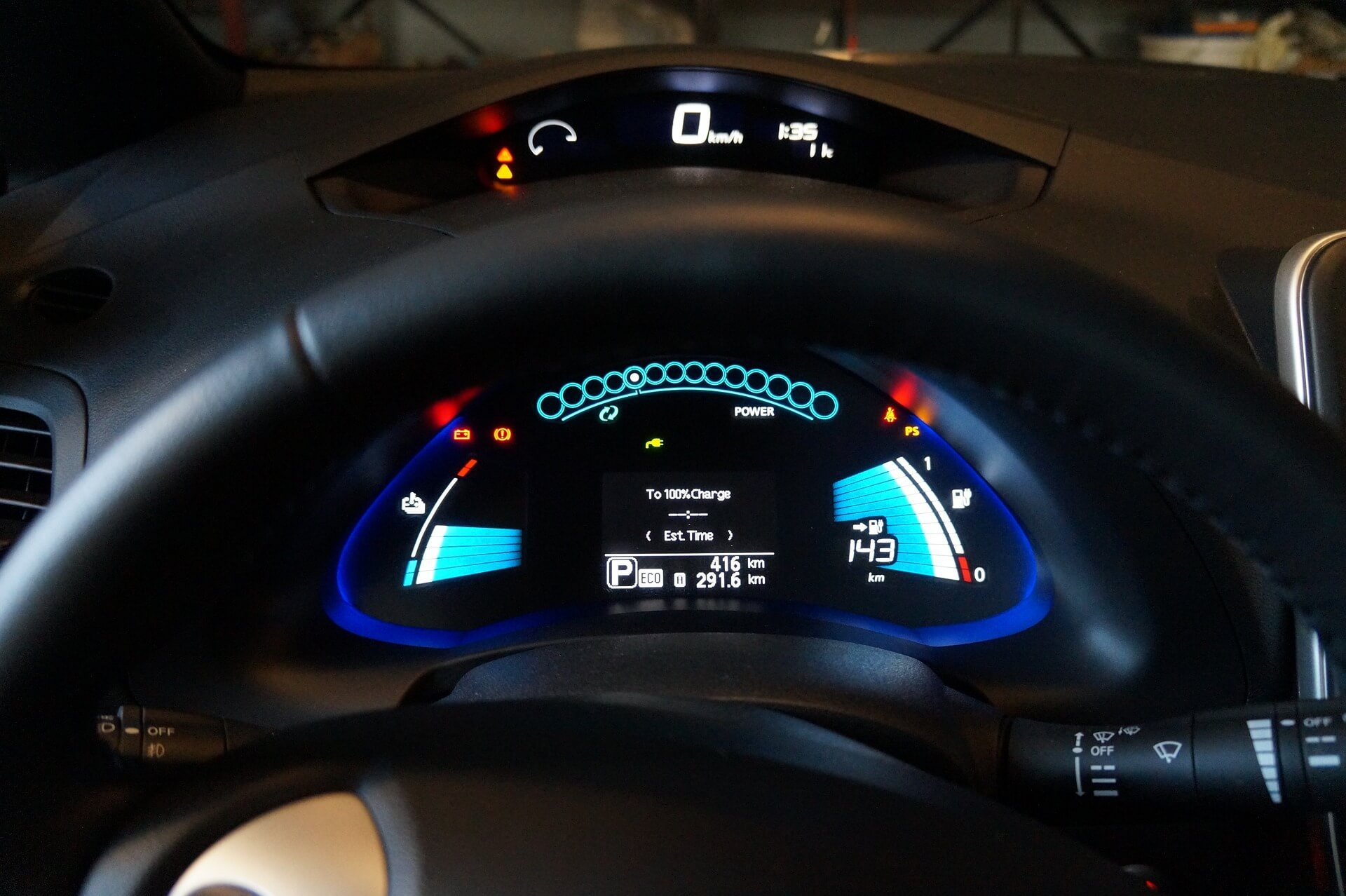 conducir un coche elétrico