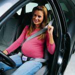 Cómo deben conducir las embarazadas