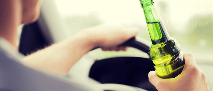 conducir y beber alcohol