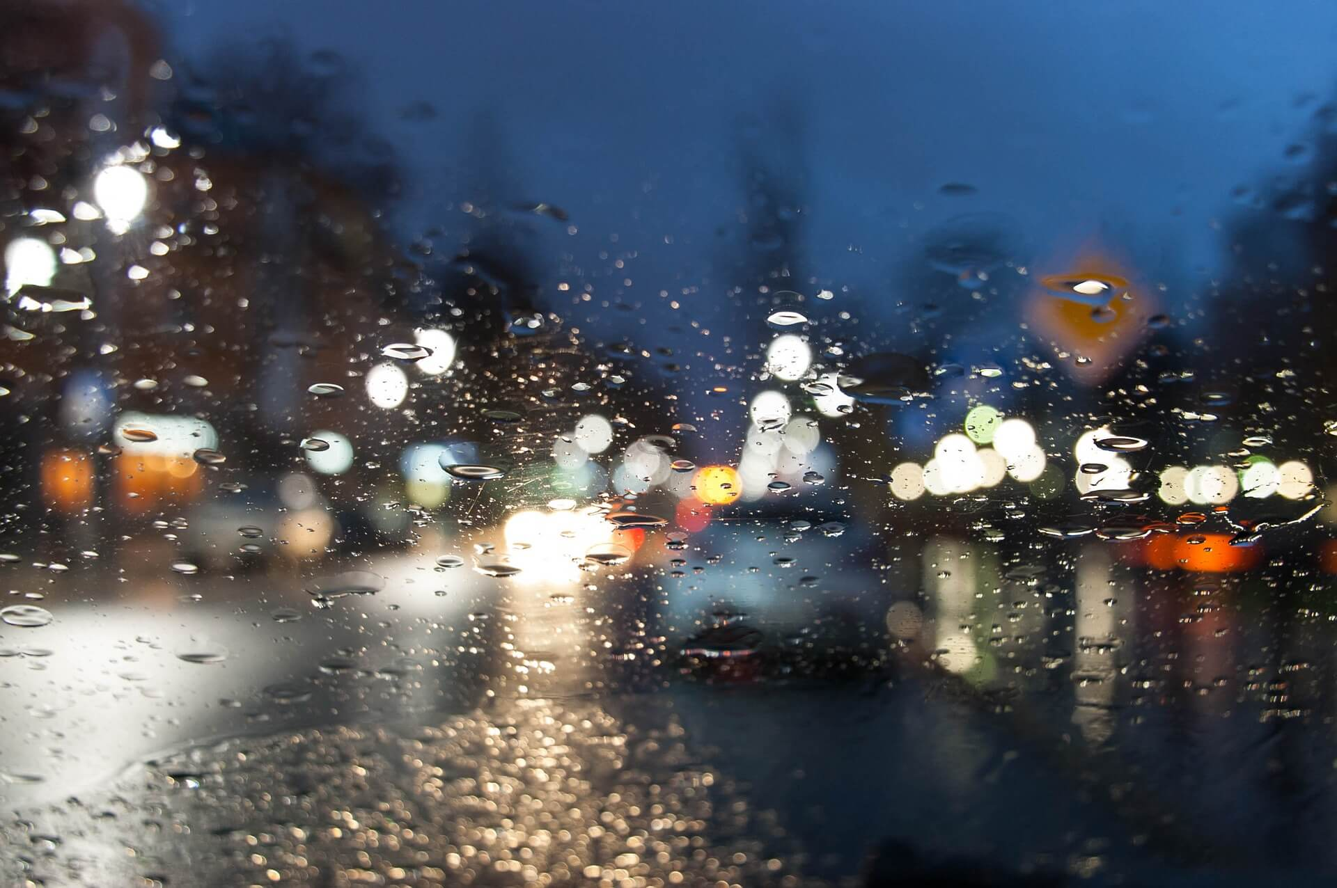 conducción en tormentas