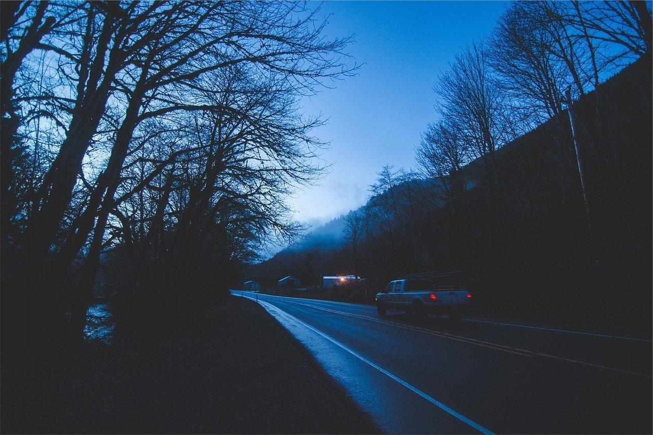 Accidentes automovilísticos por mala visibilidad