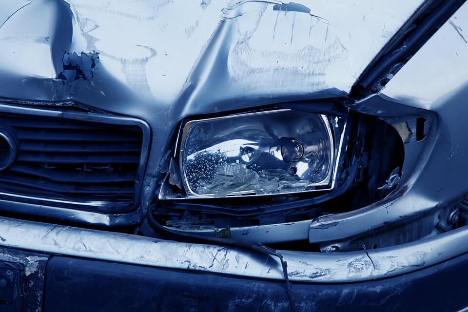realizar una reclamación por accidente de tráfico