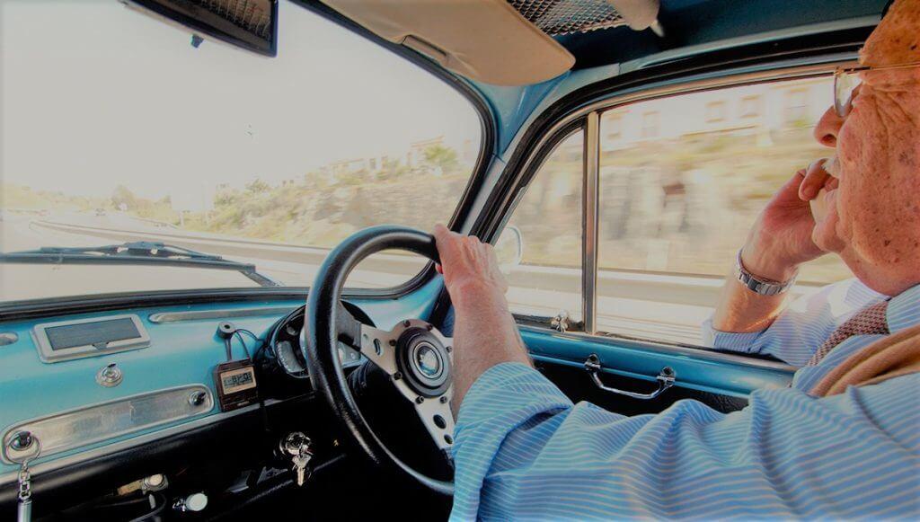 Con la edad conducimos peor