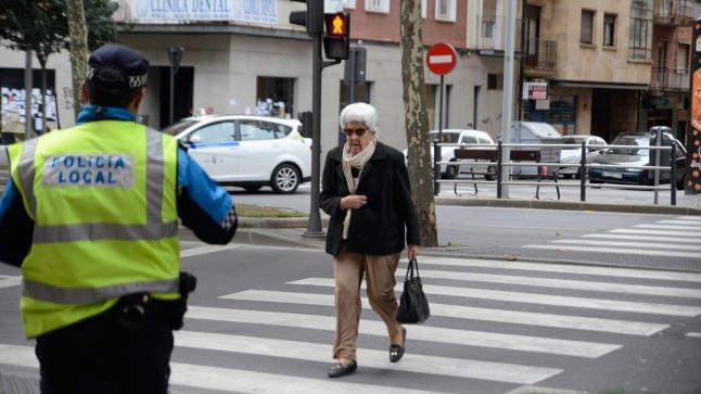 Cruzar con el semáforo en rojo