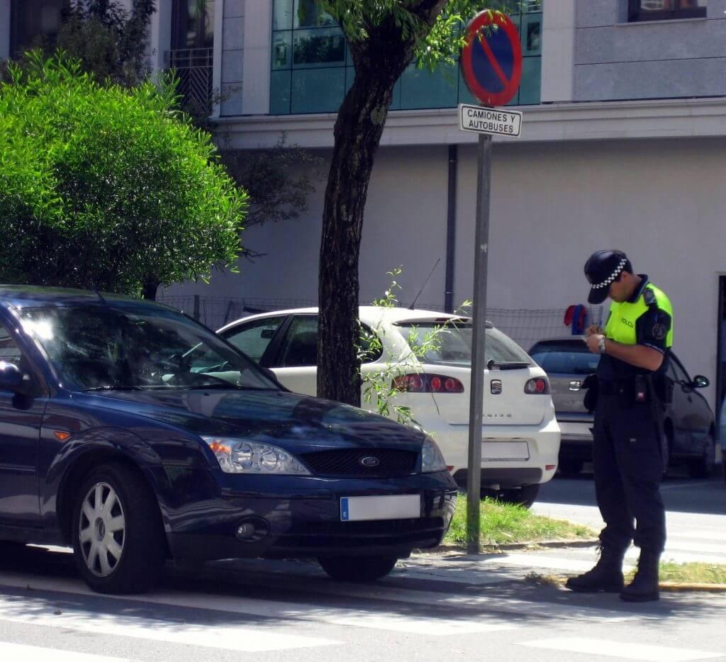 Las multas de tráfico más frecuentes en España