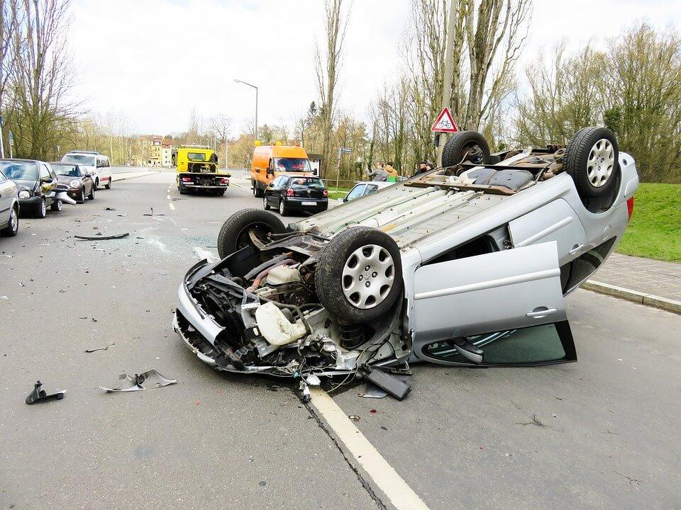 colisiones entre vehículos