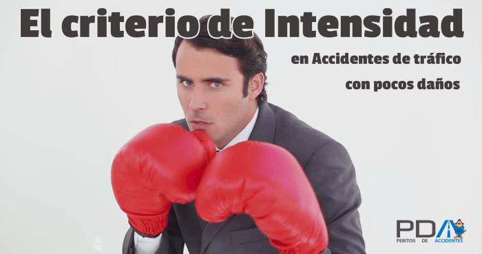 """Importancia del """"Criterio de Intensidad"""" en el Nexo Causal de accidentes de tráfico"""