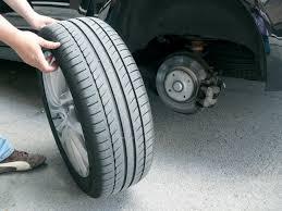 ¿Dónde poner los neumáticos nuevos?