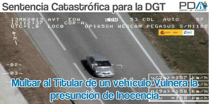 Sentencia catastrófica para la DGT