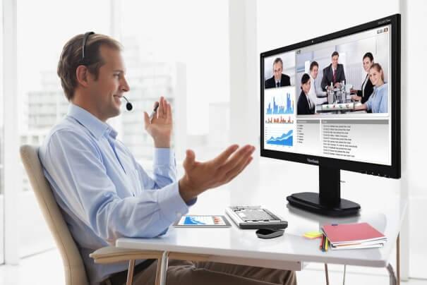 Con las videoconferencias la información se trabaja mejor