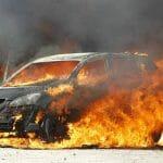 Cuáles son las causas de incendio de vehículos más comunes