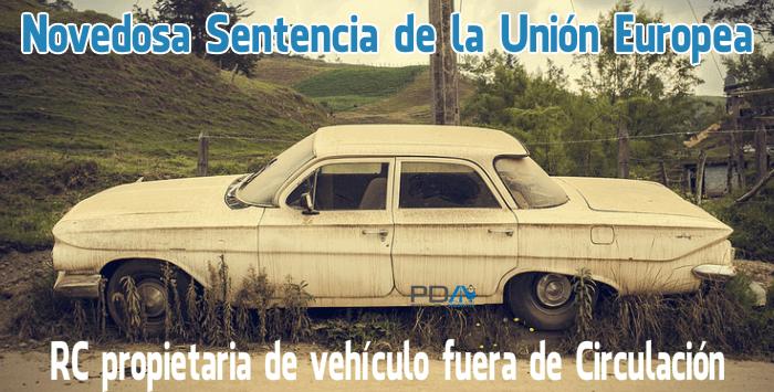 Responsabilidad Civil de vehículo aparcado en terreno privado, obligatoriedad de seguro RC