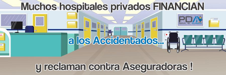 Muchos hospitales están FINANCIANDO a los accidentados, a precio de calle !