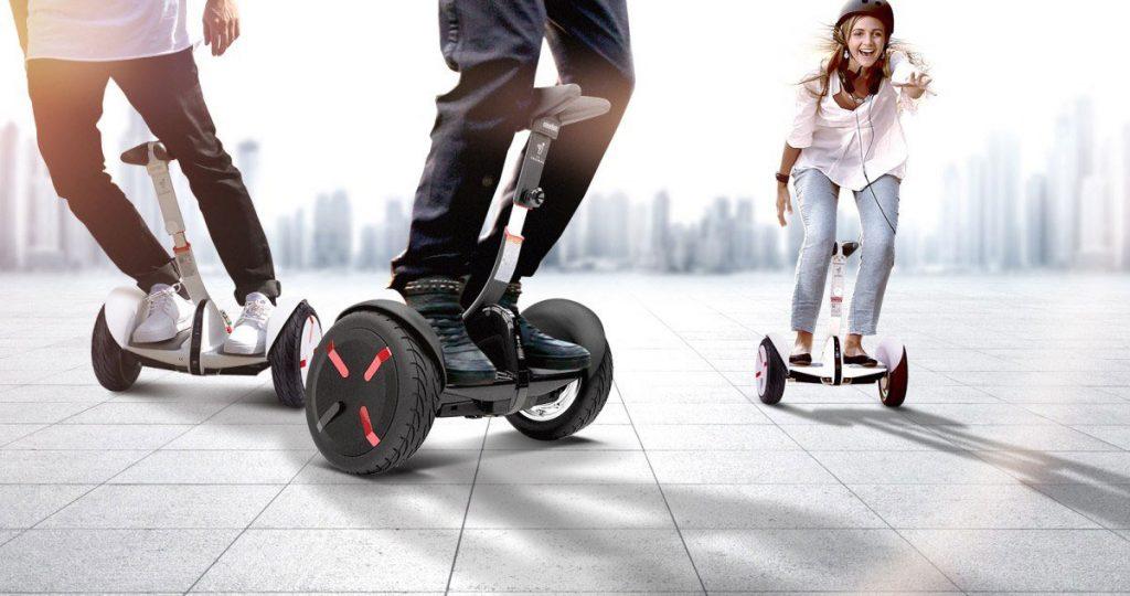 conducir un patinete eléctrico