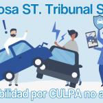 """Interesantísima St. TS sala CIVIL: En caso de """"Culpa no acreditada"""" en accidente de tráfico, se indemnizará el 50% los daños materiales y el 100% los personales"""