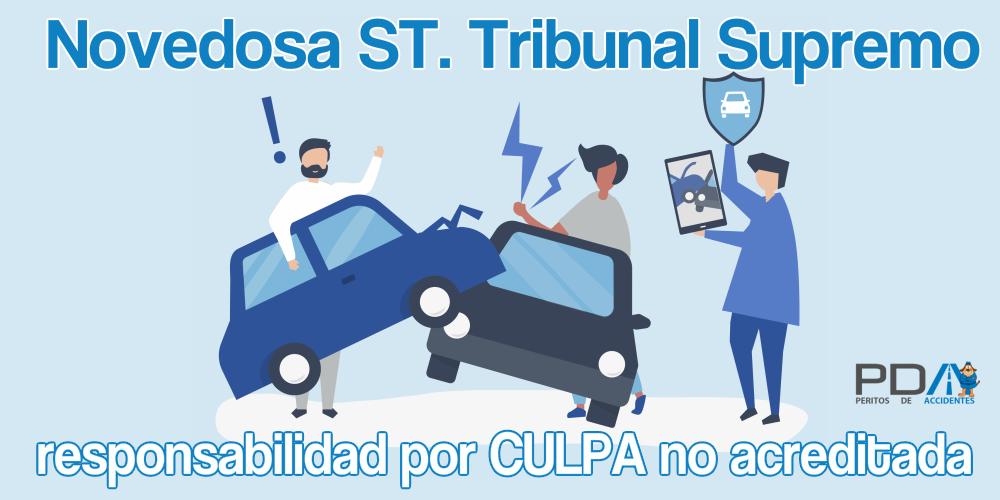 Interesantísima St. TS sala CIVIL: En caso de «Culpa no acreditada» en accidente de tráfico, se indemnizará el 50% los daños materiales y el 100% los personales